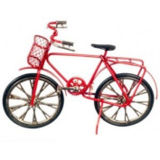 Dollhouse Red Bicycle