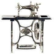 Dollhouse Miniature 1:12 Scale Metal Sewing Machine #G8086