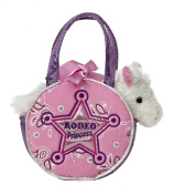 Aurora World Fancy Pal Pet Plush Carrier, Rodeo Princess