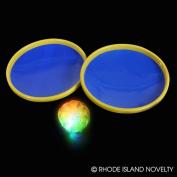 3 Piece Light Up Suction Cup Mitt & Ball Game