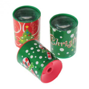 Lot Of 12 Assorted Christmas Theme Mini Prism Kaleidoscopes