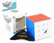 D-FantiX Cyclone Boys JiSu(Topspeed) G4 Speed Cube 4x4 Stickerless Smooth Magic Cube Puzzles