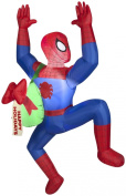 Christmas Decor Airblown Inflatable 5 Climbing SPIDERMAN