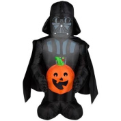 Inflatable Airblown Disney Darth Vader with Pumpkin - 1.1m - Indoor/outdoor