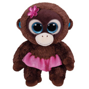 TY Beanie Boo Plush - Nadya the Monkey 15 centimetres