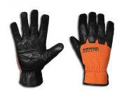 StrongSuit 10600-S Rancher Plus Leather Work Gloves, Small