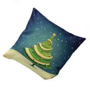 Sankuwen Home Decoration Christmas Pillow Cushion Cover