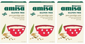 (3 PACK) - Amisa - Org G/F Porridge Oats | 325g | 3 PACK BUNDLE