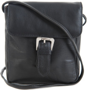 PRIMEHIDE SOFT LEATHER FLAP CROSSBODY HANDBAG BAG - 5 FAB COLOURS ! 835