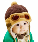 Arrowhunt Baby Boys Pilot Shape Beanie Cap Winter Warm Hats
