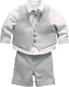NEW Boys Shirt, Trousers and Waistcoat Set (3 Piece) CHRISTENING BAPTISM OUTFIT