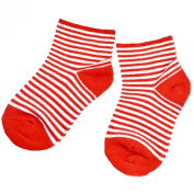 Infant candy colour anti slip stripe pattern socks, suit for baby 1-3 years old
