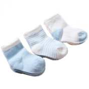 Gift Box 3 pairs of cotton socks for newborn baby socks baby, full cotton socks, 0-1 years