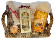 Large Royal Jelly Trio Gift set, with Lindt Lindor Caramel Chocolates