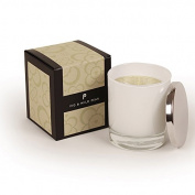 Pintail Candles Large Scented Candle in White Glass - Fig & Wild Pear