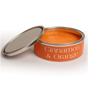 Pintail Candles Large 3 Wick Scented Candle Tin - Cinnamon & Orange