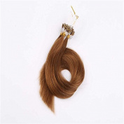 Sexyqueenhair European Straight Micro Ring Human Hair Extensions 70cm Pack of 3Pcs 100g Per Piece