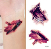 Body Art Temporary Removable Tattoo Stickers Burst RC323 Sticker Tattoo - FashionLife