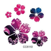 Body Art Temporary Removable Tattoo Stickers Flower CC6110 Sticker Tattoo - FashionLife