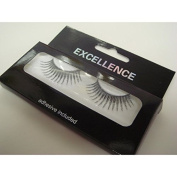 Excellence False Eyelashes - Silver Glitter