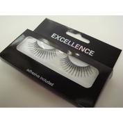 Excellence False Eyelashes - Silver Glitter