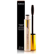 KIKO Black Mascara Luxurious Lashes Extra Volume Brush