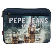 Pepe Jeans Tablet/ Beauty Case, Blue 6096851