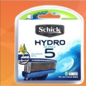 Schick Hydro 5 Shaving 8 Cartridges Refills Blade /GENUINE