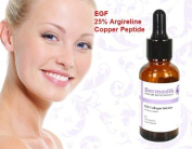 EGF 25% ARGIRELINE COPPER PEPTIDE ANTI WRINKLE CONFIRM LIFTING COLLAGEN SERUM 1oz/30ml