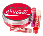 Lip Smacker Coca Cola Tin with 3 Lip Balms