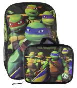 Teenage Mutant Ninja Turtles Ninja Team Large Backpack with Detachable Lunchbox