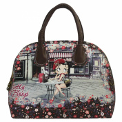 Betty Boop Cafè Woman Bag Bowling Bag Handbag Shoulderbag Bugatti