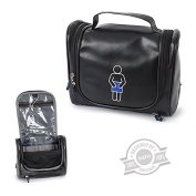 Toiletry Kit M-Icon black PVC