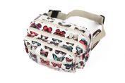 Butterfly Design Waist Bag