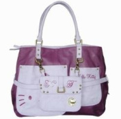 Hello Kitty 2 in 1 Leather Effect Handbag Large Official Sanrio