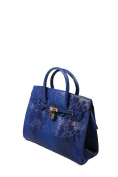 Women's Faux Crocodile Print Fashion Handbag