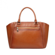 Meijia Women's Ladies' Genuine Leather Tote Satchel Handbag