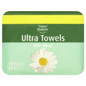 Happy Shopper Ultra Towels with Wings 14 Regular