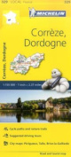 Correze, Dordogne, France Local Map 329