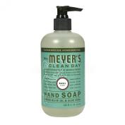 Mrs. Meyer's Hand Soap, Basil, 12.5 Fluid Ounce