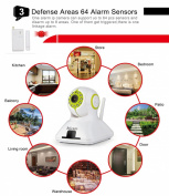 Surveillance Camera 1.0 MP Plug & Play Wifi Wireless Home P2P Camera IOS Android Smartphone Monitoring 720P IP camera