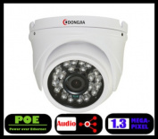 DONGJIA security indoor dome network audio 1.3 mega home ip web camera p2p surveillance camera poe full hd 960p