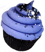 Little Black Dress Cupcake Bath Bomb