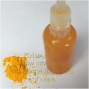Yellow 15ml Liquid Colourant and 1g Dry Pigment Powder Sample Make Your Own Bath Bombs Fizzies Sugar Scrubs Salts