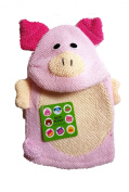 "Two's Company Bath Buddy ""Pig"" Terry Cloth Mitten"