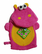 "Two's Company Bath Buddy ""Hippo"" Terry Cloth Mitten"