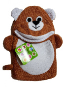 "Two's Company Bath Buddy ""Bear"" Terry Cloth Mitten"