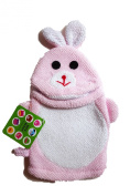 "Two's Company Bath Buddy ""Bunny"" Terry Cloth Mitten"