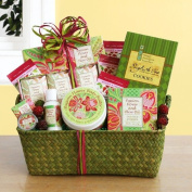 Passion Flower Scented Spa Gift Basket