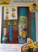 Minions Bath Time Shave Set